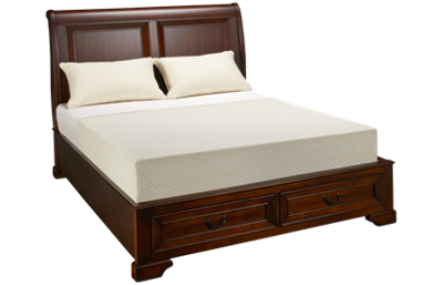 Aspen Richmond Queen Sleigh Platform Bed with Underbed