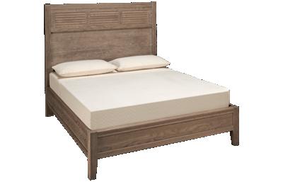 Vaughan-Bassett Passageways Queen Louvered Bed