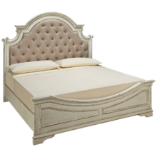 Liberty Furniture Magnolia Manor King Upholstered Panel Bed