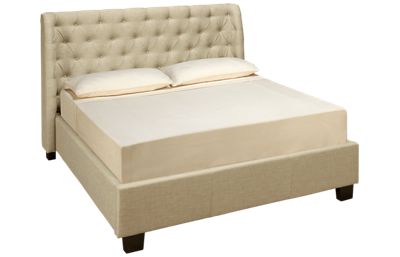 Modus Geneva Levi Queen Upholstered Bed