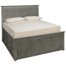 Intercon Oak Park Queen Panel Bed with Storage