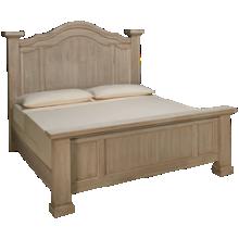 Vaughan-Bassett Rustic Hills King Poster Bed