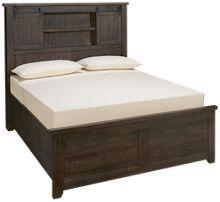 Jofran Madison County Queen Barn Door Bed