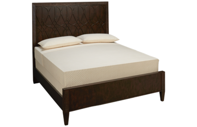 Klaussner Home Furnishings Charleston Lane Queen Panel Bed