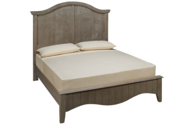 Vaughan-Bassett Casual Retreat Queen Arched Bed