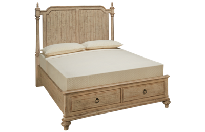 Kincaid Weatherford Queen Panel Storage Bed