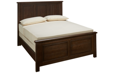 Vaughan-Bassett Artisan Choices Queen Panel Bed