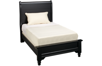 Vaughan-Bassett Cottage Twin Low Profile Sleigh Bed