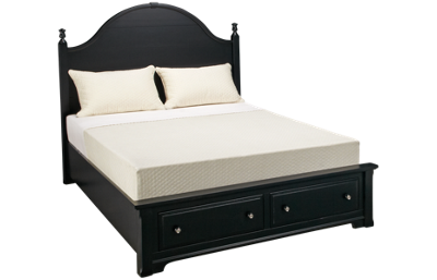 Vaughan-Bassett Cottage Queen Panel Storage Bed
