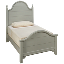 Vaughan-Bassett Cottage Twin Panel Bed