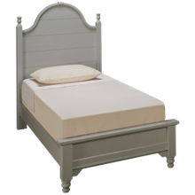 Vaughan-Bassett Cottage Twin Low Profile Panel Bed