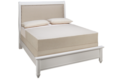 Vaughan-Bassett French Market Queen Upholstered Bed