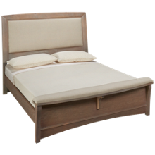 Vaughan-Bassett Transitions Queen Upholstered Bed