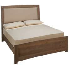 Vaughan-Bassett Transitions Queen Upholstered Panel Bed