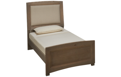 Vaughan-Bassett Transitions Twin Upholstered Panel Bed