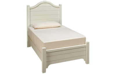 Vaughan-Bassett Bungalow Twin Low Profile Arched Bed