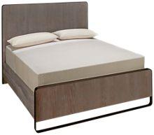 Universal Modern Queen Keaton Panel Bed