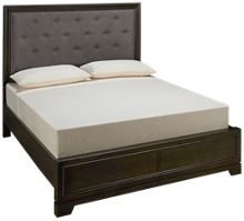 Aspen Front Street Queen Upholstered Storage Platform Bed