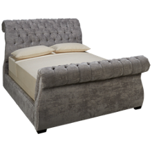 Jonathan Louis Malena Queen Upholstered Sleigh Bed