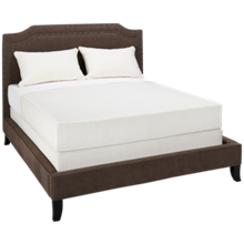 Jonathan Louis Scarlet Queen Upholstered Bed