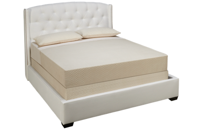 Jonathan Louis Leslie Queen Upholstered Bed with Nailhead
