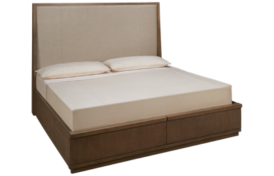 Klaussner Home Furnishings Melbourne King Upholstered Storage Bed