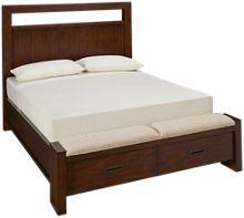 Riverside Riata Queen Panel Storage Bed