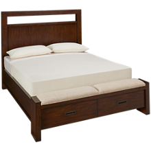 Riverside Riata Queen Panel Storage Bed