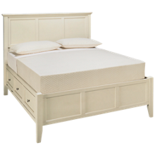 A America Northlake Queen Panel Storage Bed