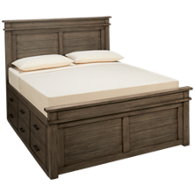 A America Glacier Point Queen Captains' Storage Bed