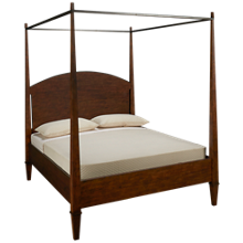 Klaussner Home Furnishings Trisha Yearwood Home Queen Canopy Poster Bed