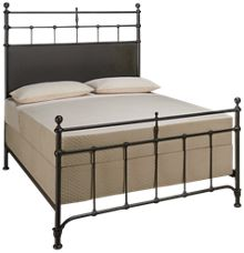 Magnolia Home Queen Metal Trellis Bed