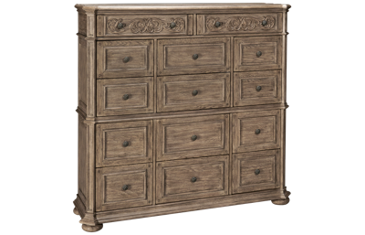 Klaussner Home Furnishings Cardoso 14 Drawer Master Chest