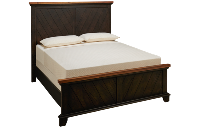 Steve Silver Company Bear Creek Queen Panel Bed