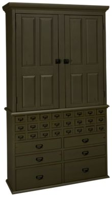 Magnolia Home File Cabinet Armoire Base and Hutch