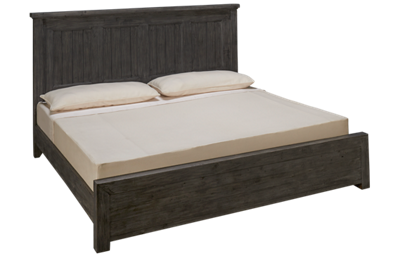 Four Hands Irish Coast King Low Profile Panel Bed