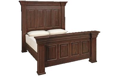 International Furniture Direct Terra Queen Bed