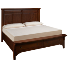 Napa Furniture Blackcomb King Storage Panel Bed