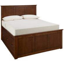 Mastercraft Palisades Queen Platform Storage Bed