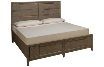 Magnussen Geometry King Panel Storage Bed