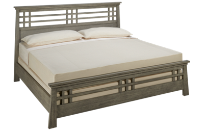 Ligna Furniture Zen King Grid Bed