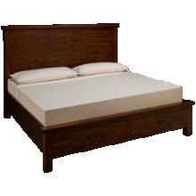 Napa Furniture Green Valley King Panel Storage Bed