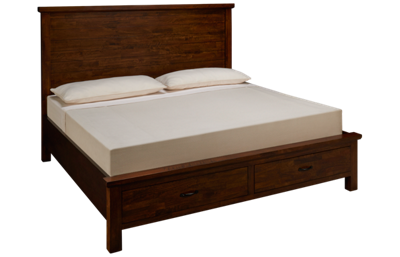 Napa Furniture Green Valley King Panel Storage Bed