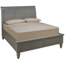 Aspen Cambridge Queen Sleigh Low Profile Bed