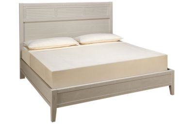 Vaughan-Bassett Passageways King Low Profile Louvered Bed