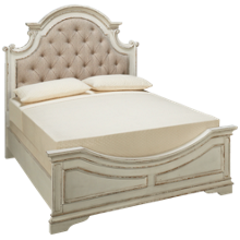 Liberty Furniture Magnolia Manor Queen Upholstered Panel Bed
