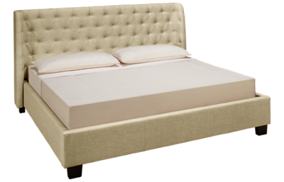 Modus Geneva Levi King Upholstered Bed
