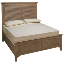 Riverside Myra Queen Louver Bed