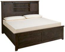 Jofran Madison County King Barn Door Bed