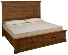 Aspen Manchester King Panel Storage Bed